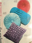 1960s SMOCKED PILLOWS CUSHIONS PATTERN Simplicity 5244  ROUND, SQUARE and BOLSTER Smocked Cushions Pillows Vintage Sewing Pattern