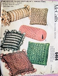 60s SMOCKED PILLOWS PATTERN PLAIN or CHECKED FABRIC McCALLS 6464 UNCUT