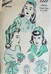 1940s  HATS, BAG PURSE PATTERN BERET TAM, BEANIE, PILL BOX ADVANCE 3223