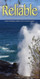 Church Banner featuring Ocean/Blow Hole with Inspirational Theme