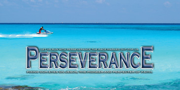 Church Banner featuring Jet Skier/Beautiful Water with Motivational Theme