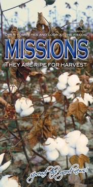 Church Banner featuring Cotton with Missions Theme