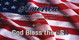 Church Banner featuring Flag with GOD Bless the USA Patriotic Theme