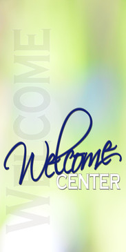 Church Banner featuring Spring Colors for Welcome Banner
