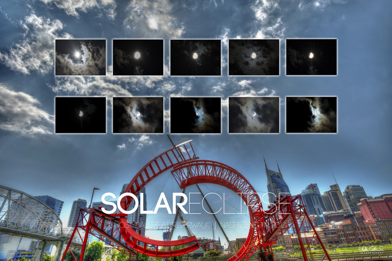 View the Great American Solar Eclipse from the Cumberland Riverwalk in Nashville.