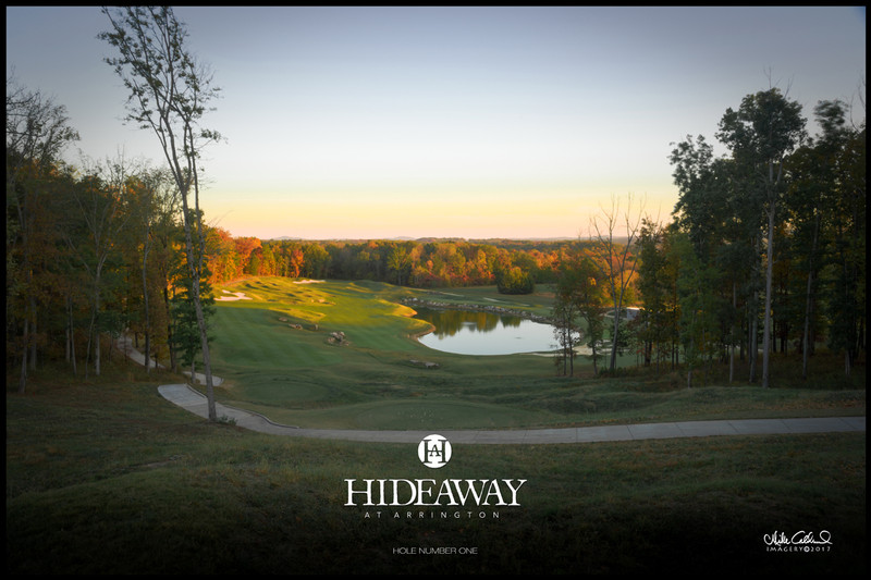 Hideaway at Arrington Hole Number One Fall