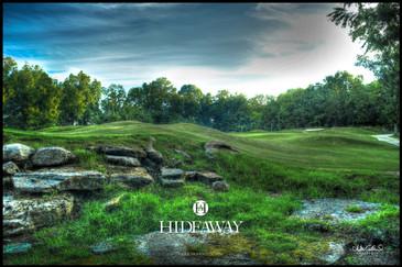 Hideaway at Arrington Hole Number Seven Closeup