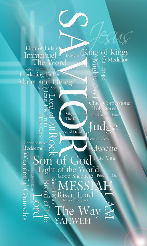 Names of Jesus Church Banners SKU02