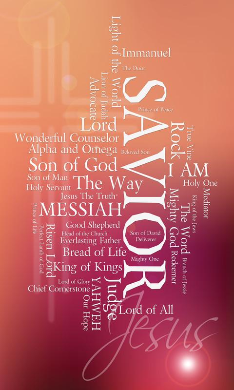 Names of Jesus Church Banners SKU18