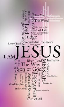Names of Jesus Church Banners SKU22