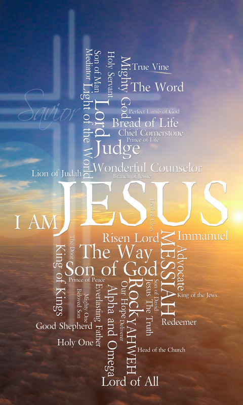 Names of Jesus Church Banners SKU30