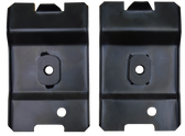 '79-'93 REAR OF FRONT SEAT ANCHOR PLATES