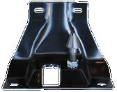 1960-1966 Chevrolet/GMC hood latch plate w/striker