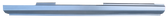 2008-2012 Honda Accord rocker panel, passenger's side