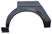1982-1988 Volkswagen Quantum rear wheel arch, driver's side