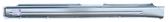 1990-10/1993 Volkswagen Passat rocker panel, driver's side