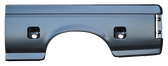 1987-1996 F-150 6' bedside skin, with dual fuel openings, driver's side