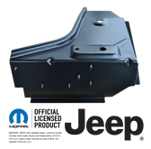 76-95 JEEP CJ7 AND YJ WRANGLER FRONT FLOOR TOE BOARD SUPPORT, PASSENGERS SIDE REPLACES: 55010914