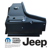 76-95 JEEP CJ7 AND YJ WRANGLER FRONT FLOOR TOE BOARD SUPPORT, DRIVERS SIDE REPLACES: 55010916
