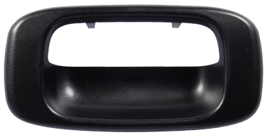 1999-2006 Chevrolet and GMC pickup tailgate handle bezel, textured black