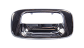 1999-2006 Chevrolet and GMC pickup tailgate handle bezel, chrome