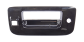 2007-2013 Chevrolet and GMC pickup tailgate handle bezel, paint to match, with keyhole, with camera