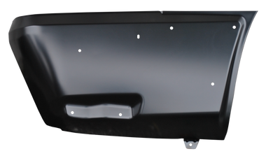 2002-2006 Chevrolet Avalanche, with body cladding, rear lower quarter panel section, passenger's side