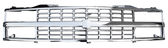 '88-'93 CUSTOM ALL CHROME GRILLE FOR TRUCKS WITH COMPOSITE HEADLIGHTS