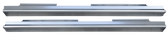'99-'06 & '07 CLASSIC PAIR OF CREW CAB SLIP ON ROCKER PANELS WITH SILLS LH&RH (2pc)