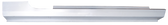 '87-'93 ROCKER PANEL, PASSENGER'S SIDE