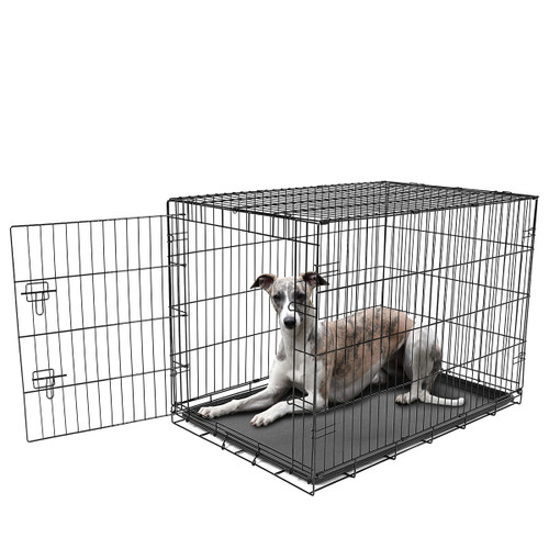 large wire dog crate