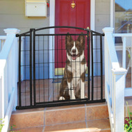 outdoor walk through pet gate