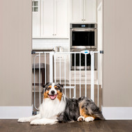 Expandable Extra Wide Pet Gate with Slide Handle