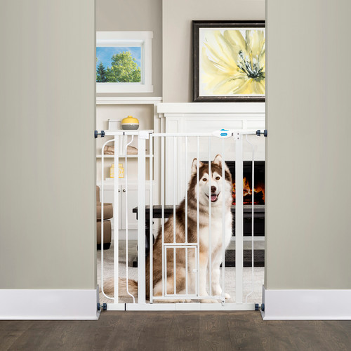 Extra tall expandable pet gate