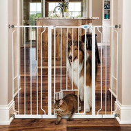 Extra tall and wide pet gate