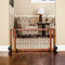moveable freestanding pet gate