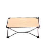 Small Portable Dog Cot - Tan