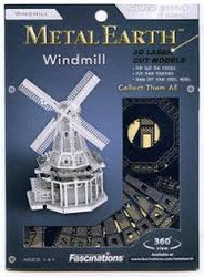 Windmill metal earth Puzzle