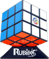 "In 1974 a Budapest Architecture Professor named Erno Rubik created an object that was not suppose to be possible. His solid cube twisted and turned - and still it did not break or fall apart.  With colourful stickers on its sides, the cube got scrambled and thus emerged the first ""Rubik's cube"".  One of the most infuriating & engaging inventions ever conceived."