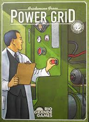 The objective is to supply the most cities with power. Players bid against eachother to purchase power plants to power their cities. Players must aquire the raw material (coal, oil, garbage or uranium) to power said plants.  2-6 players    12+     90-120 min