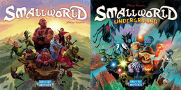 Smallworld Underground is a stand-alone game set beneath the surface of the Smallworld universe. It features new races and special powers, and introduces monster occupied regions that protect relics and places of great power.  2-5 players     8+     30-90 min
