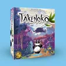 The Chinese Emperor has offered a giant panda bear as a symbol of peace to the Japanese Emperor. Since then, the Japanese Emperor has entrusted his court members (the players) with the difficult task of caring for this animal by tending to his bamboo garden. The player who manages his land plots best, growing the most bamboo while feeding the panda will win the game.  2-4 players     8+     45 min