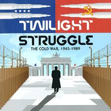 Is a two player game simulating the forty-five year dance of intrigue, prestige, and occasional flares of warfare between the United States and the Soviet Union.  2 players     13+     180 min