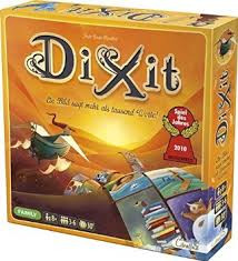Dixit is a beautifully illustrated game of creative guesswork, where imagination unlocks the tale!  3-6 players     6+     30 min