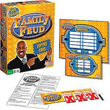 Chock full of survey questions from the hit T.V. game show! From the Face Off to the Fast Money Round, the survey says....  3+ players     10+