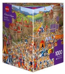 1000 PC Heye Cartoon Triangle Puzzle (ASSTD)