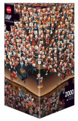 2000 PC Heye Cartoon Triangle Puzzle (ASSTD)