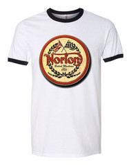 NORTON ringer shirt