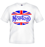 Norton motorcycle tee