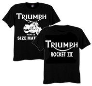 Triumph Rocket 3 tee (double sided)